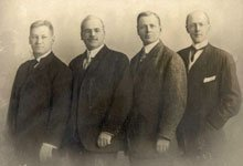 The first four members of Rotary International.