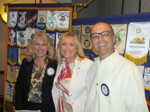 DeAnn Hurtado, Dr. Valerie Browning, and Kevin Werst